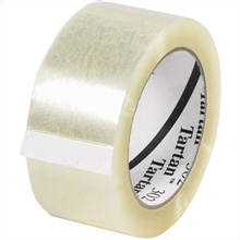 "36 rolls - 2"" x 110 yds. 1.6 Mil. Clear 3M 302 Tape."